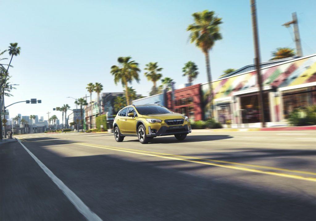 nuova Subaru XV in strada