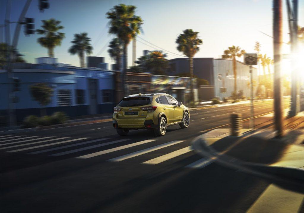 nuova Subaru XV profilo posteriore