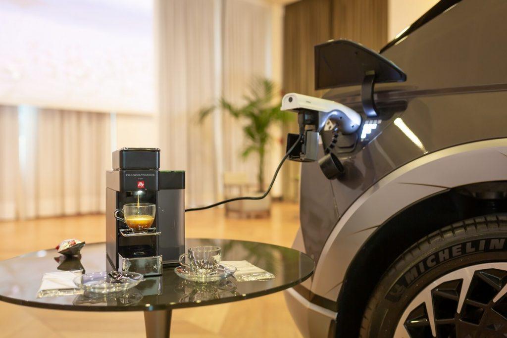 Hyundai IONIQ 5 funzione V2L