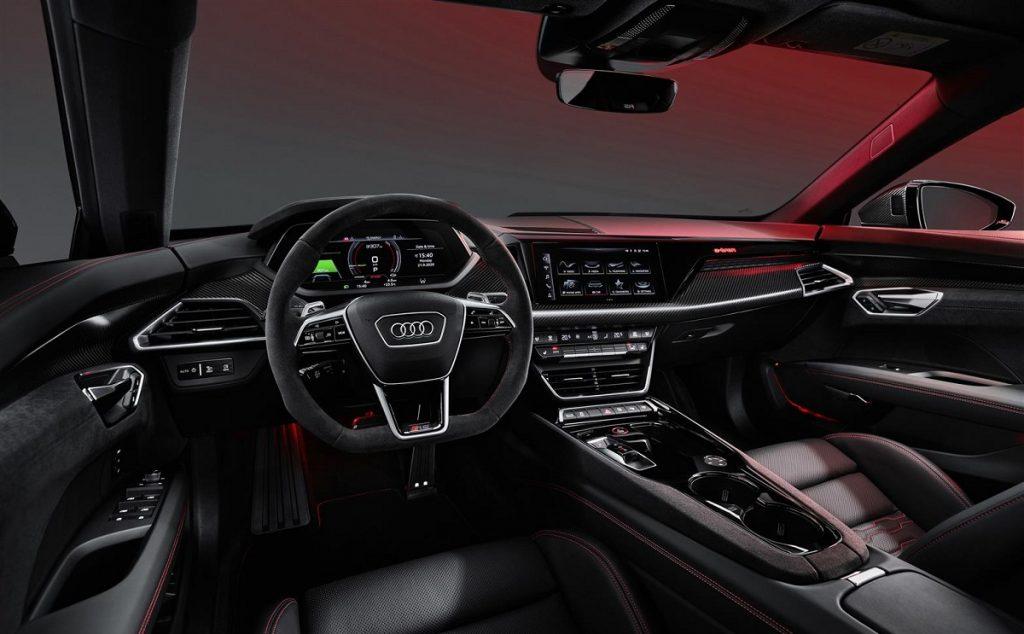 interni Audi e-tron GT
