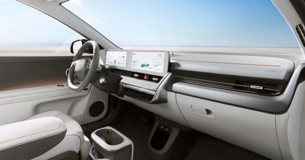 interni nuova Hyundai IONIQ 5