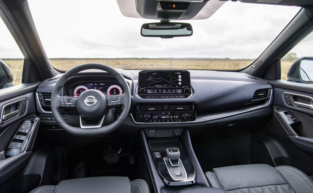 interni nuovo Nissan Qashqai