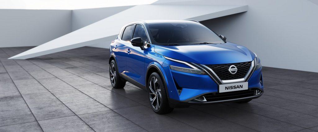 nuovo Nissan Qashqai dettaglio anteriore