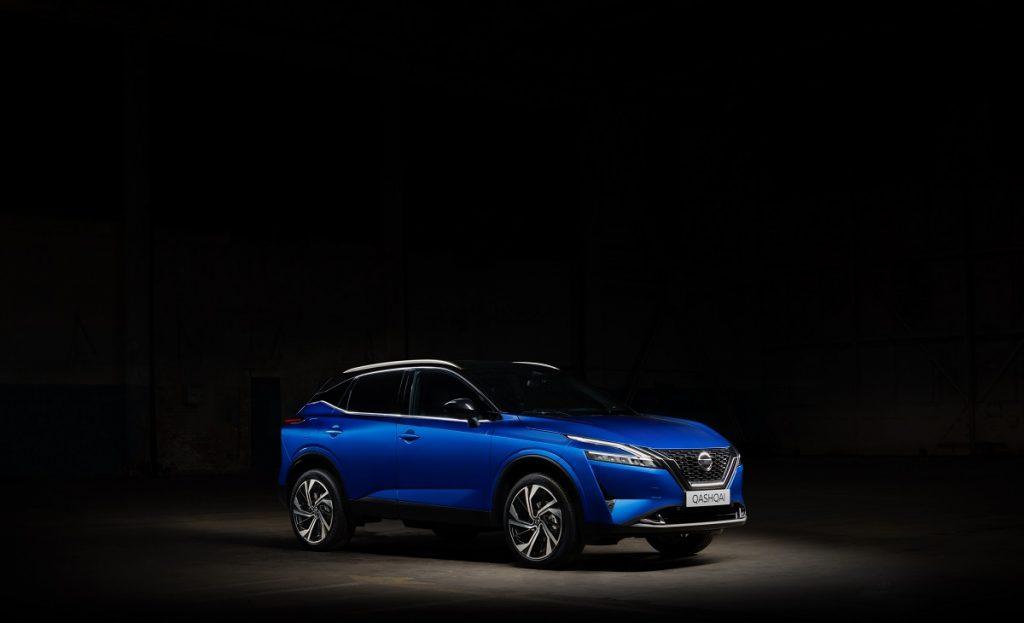 nuovo Nissan Qashqai profilo anteriore