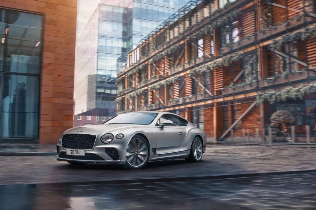 Bentley Continental GT Speed dettaglio