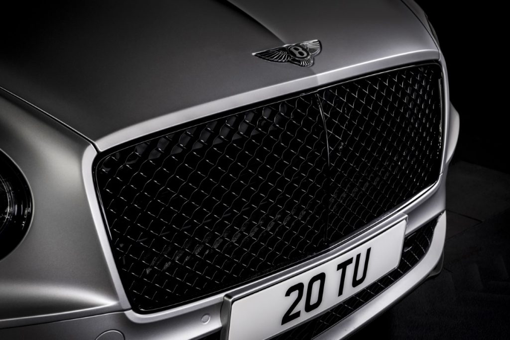 Bentley Continental GT Speed griglia anteriore
