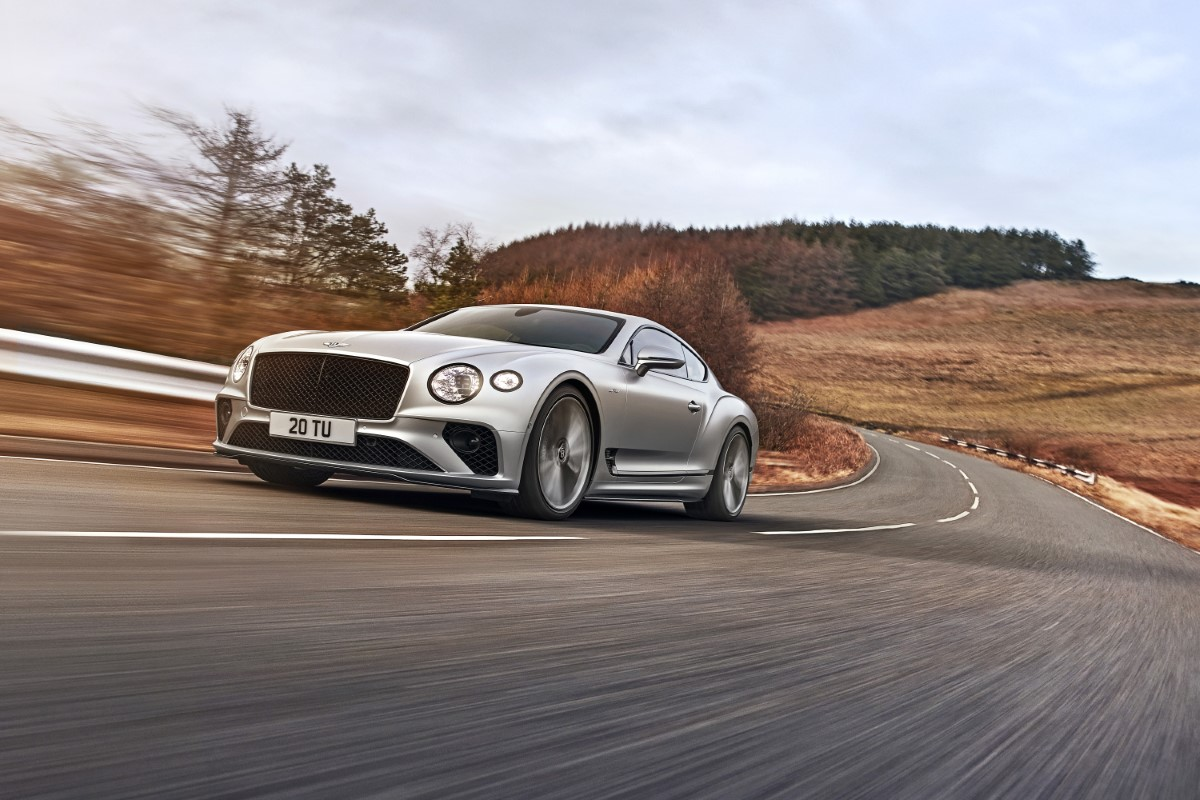 Bentley Continental GT Speed: 659 CV per la versione stradale più veloce