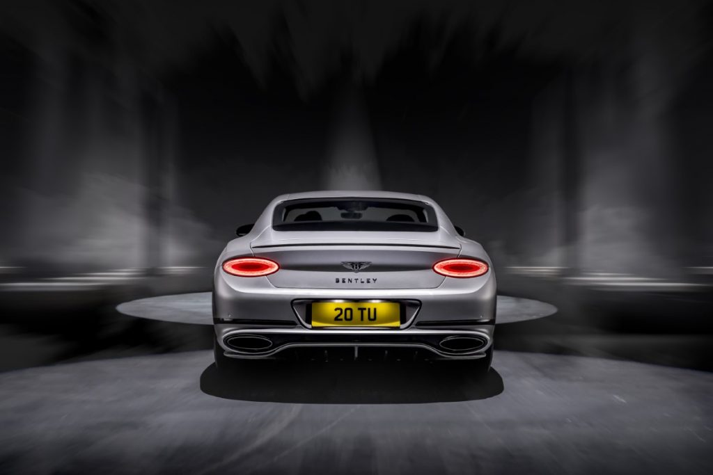 Bentley Continental GT Speed posteriore