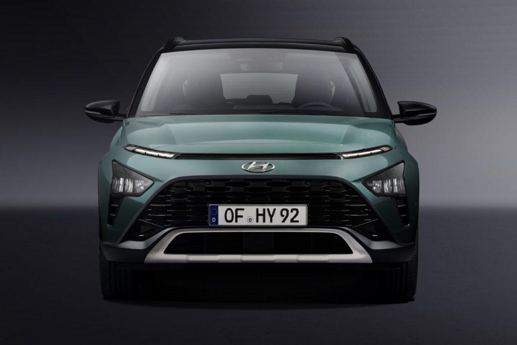 nuova Hyundai Bayon frontale