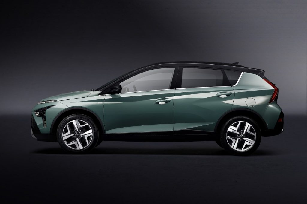 nuova Hyundai Bayon profilo