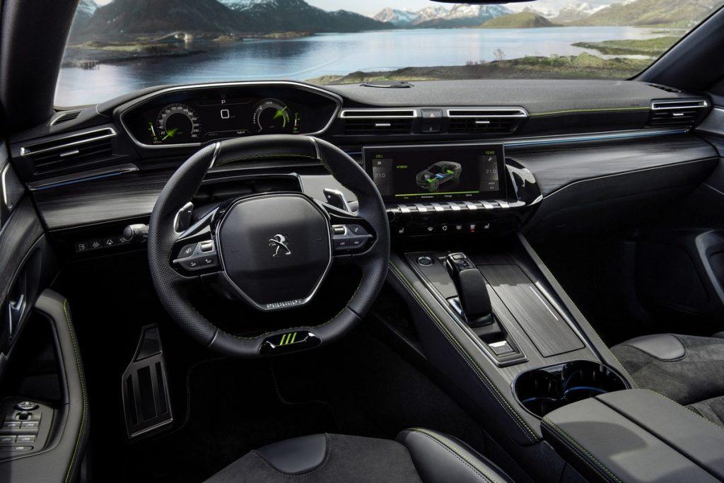 Peugeot 508 Sport Engineered interni
