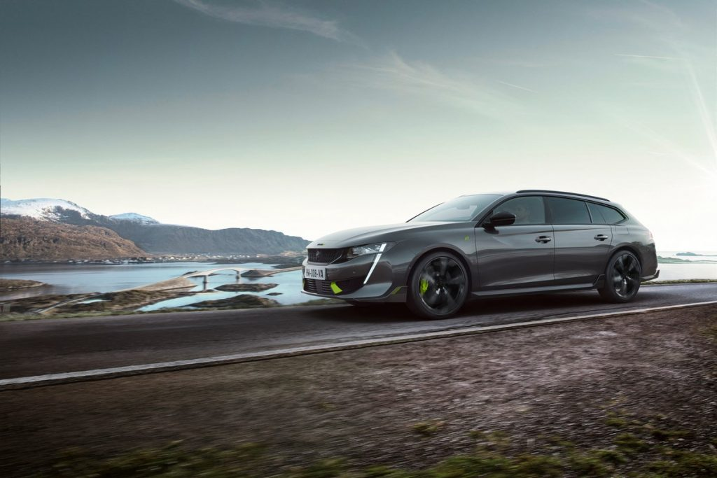 Peugeot 508 Sport Engineered profilo