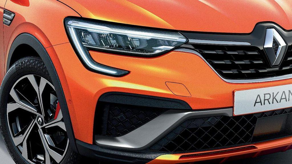 Renault Arkana fari full LED