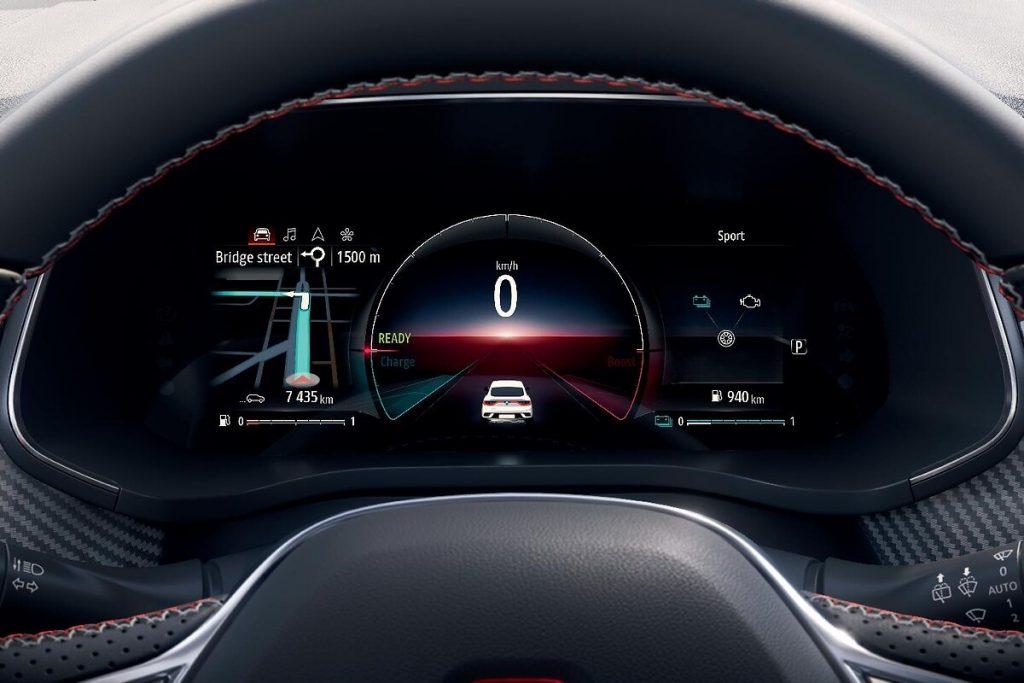 Renault Arkana display digitale