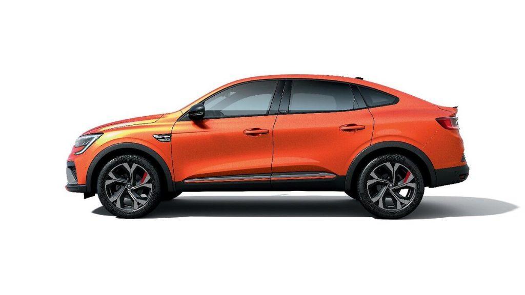 Renault Arkana profilo
