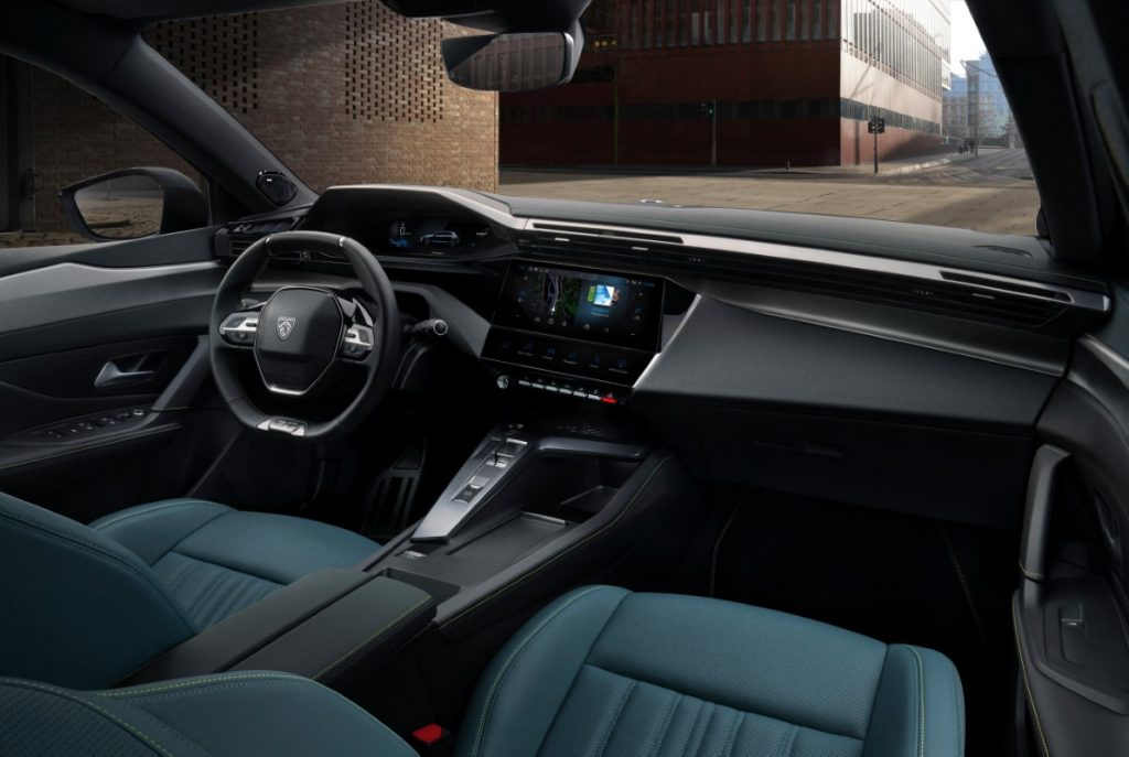 nuova Peugeot 308 interni