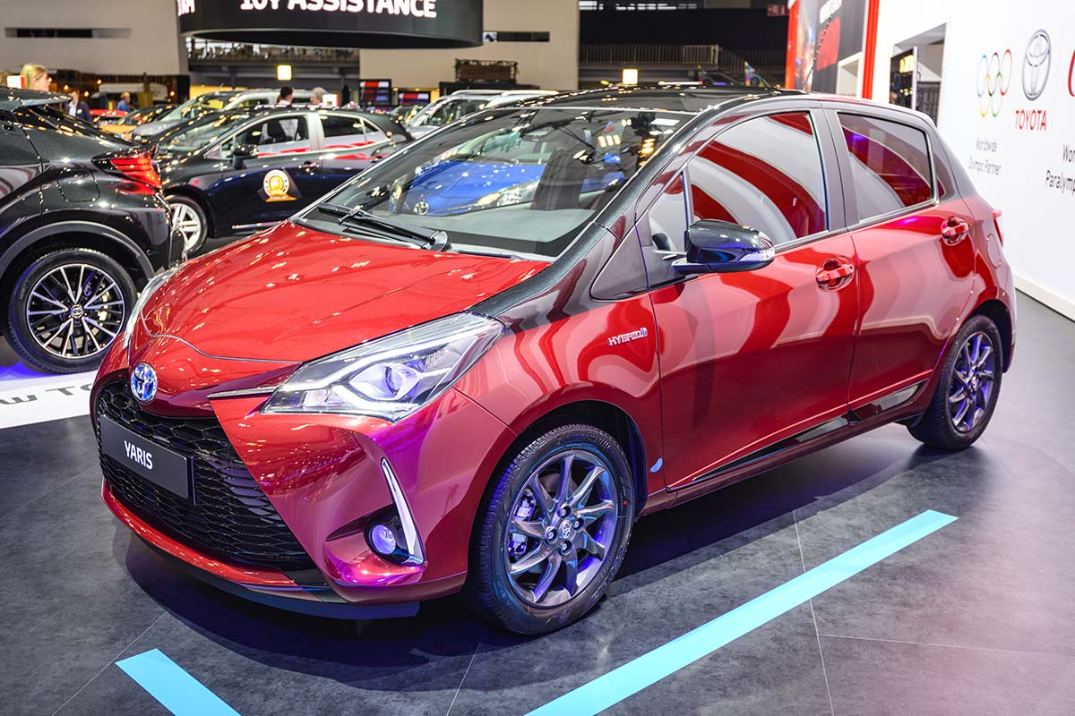 Toyota Yaris vince il premio Car of the Year 2021