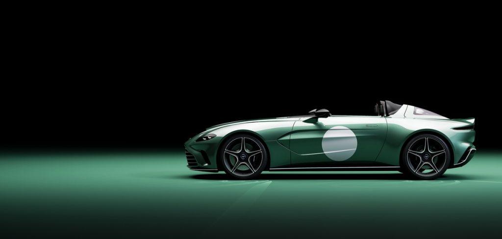 Aston Martin V12 Speedster profilo