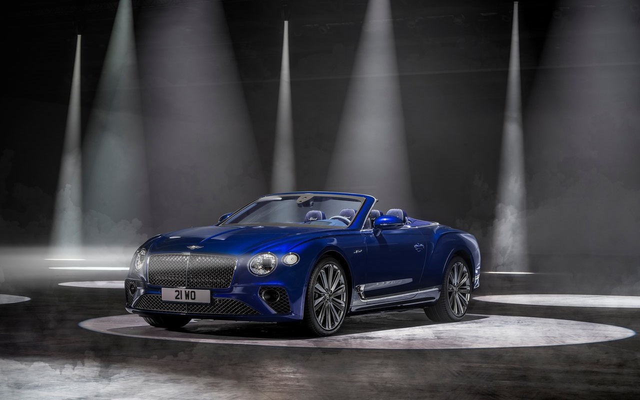 Bentley Continental GT Speed Convertible, 650 CV a cielo aperto