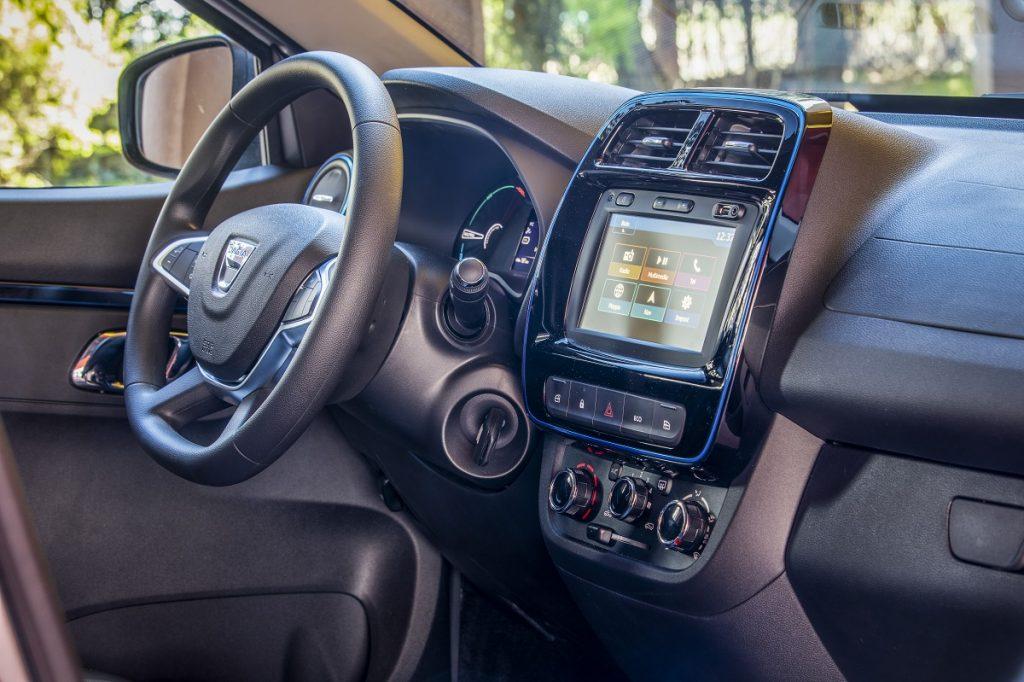Dacia Spring infotainment
