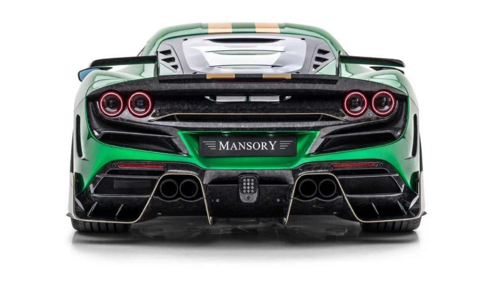 Mansory F8XX - Ferrari F8 Tributo - vista posteriore