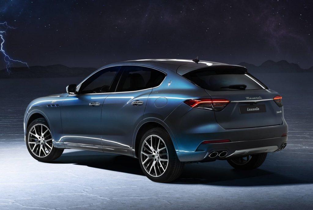 Maserati Levante Hybrid vista posteriori