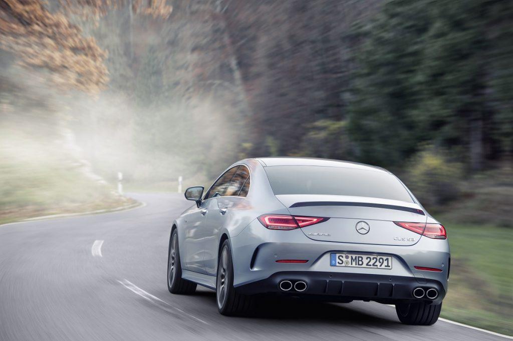 Mercedes-AMG CLS 53 vista posteriore