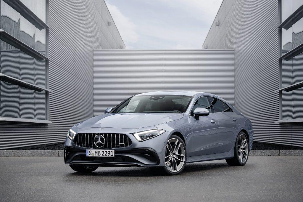 Mercedes-AMG CLS 53 dettaglio profilo anteriore