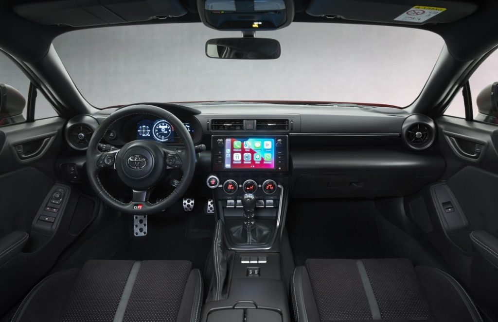 Toyota GR86 interni