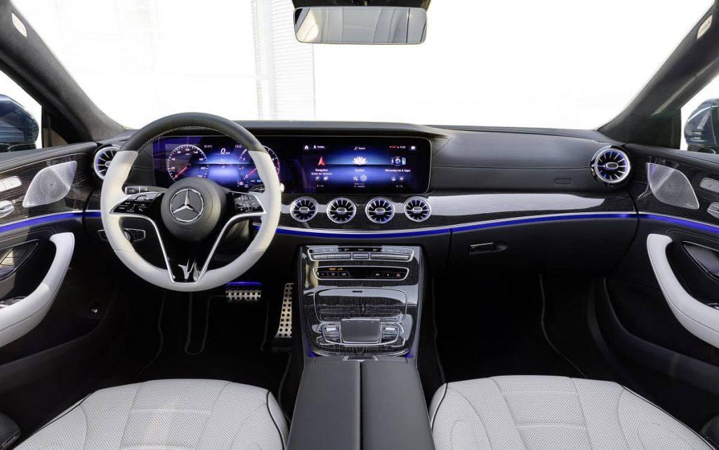 dettaglio interni Mercedes CLS 2021