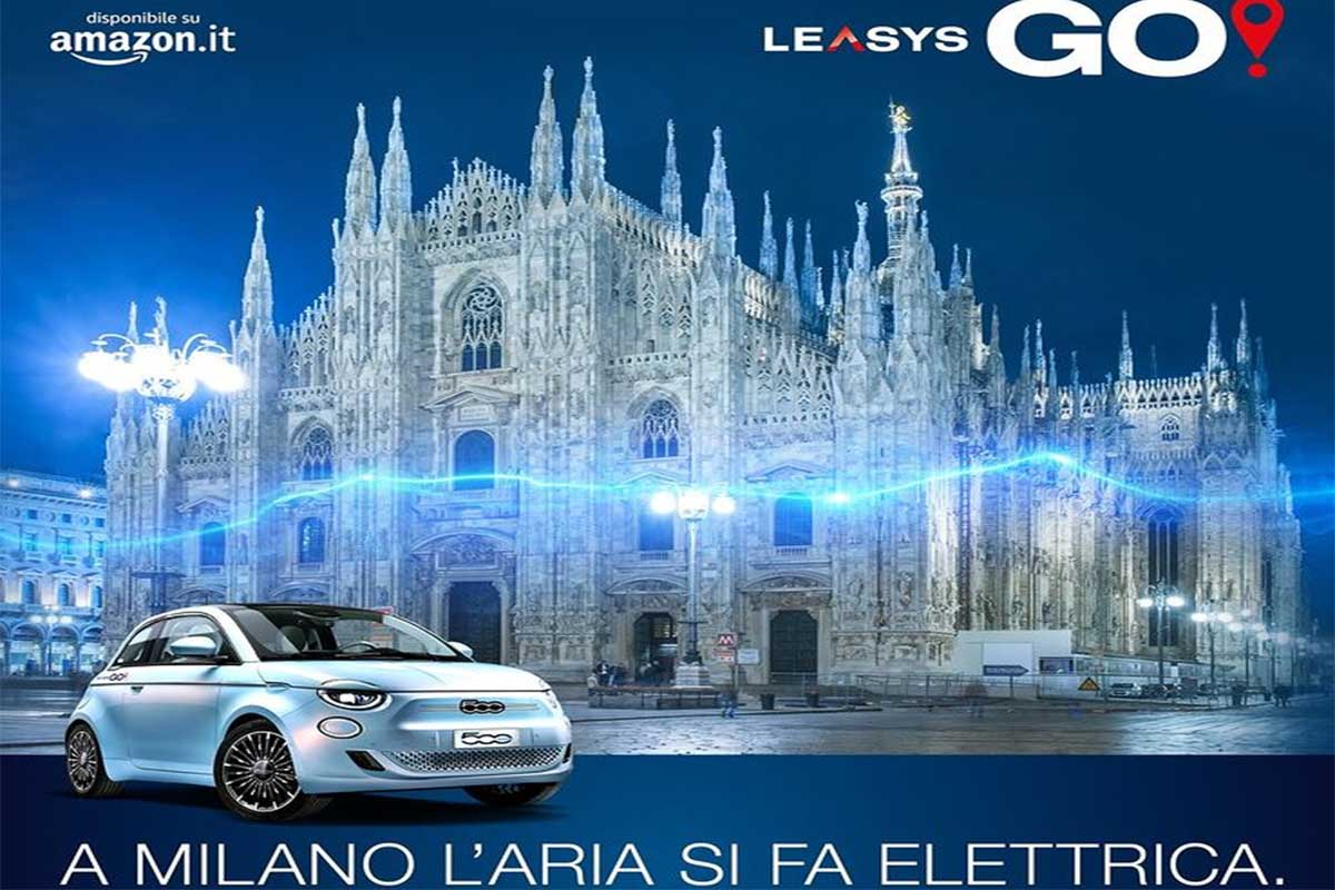 LeasysGo!, il servizio di car sharing elettrico arriva a Milano