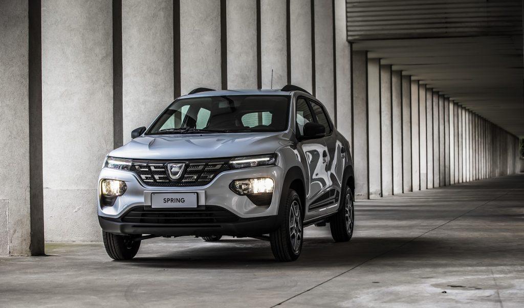nuova Dacia Spring frontale