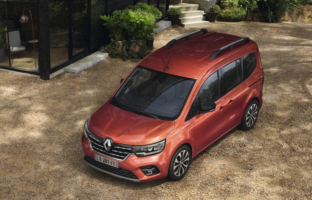 nuovo Renault Kangoo vista alta