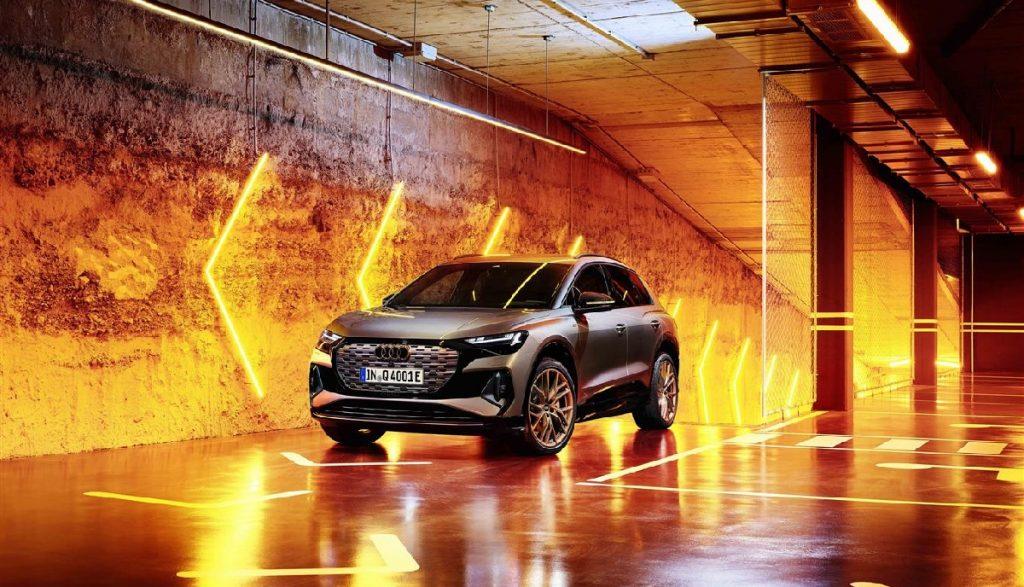 Audi Q4 e-tron quattro allestimenti