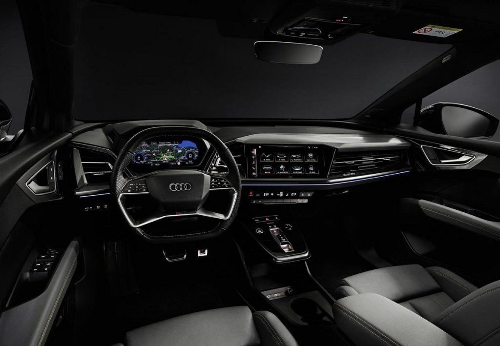 Audi Q4 e-tron quattro interni