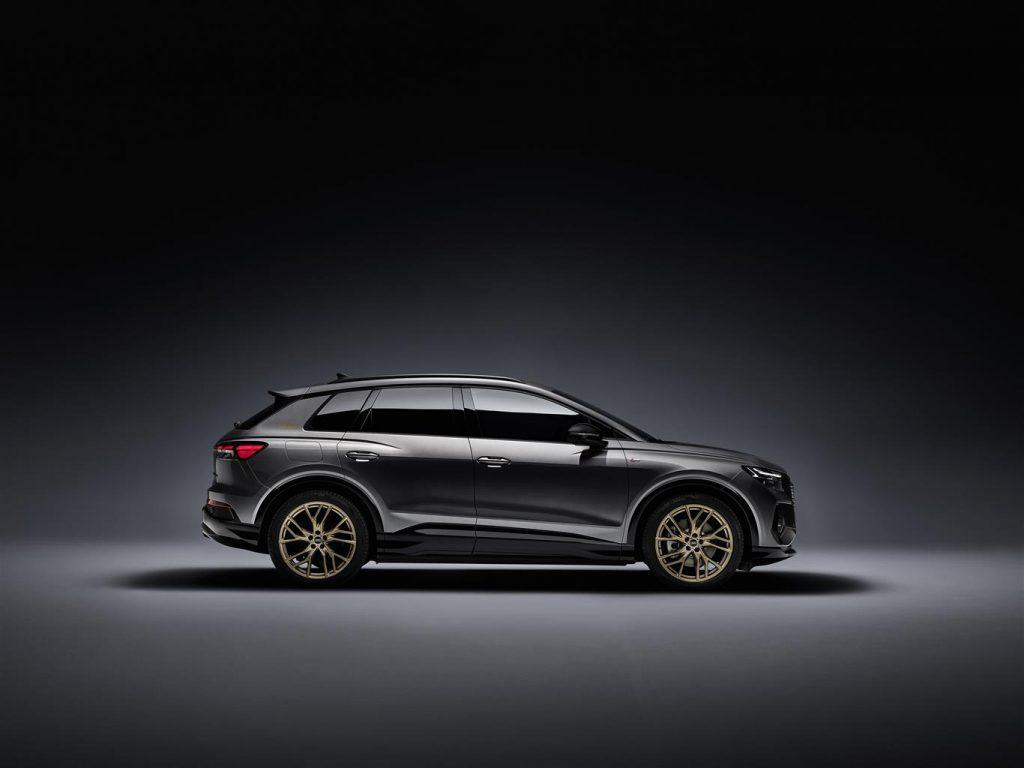 Audi Q4 e-tron quattro propulsore integrale