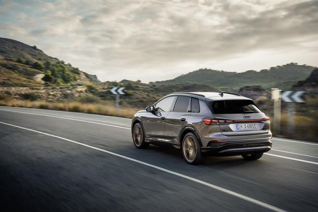 Audi Q4 e-tron quattro sistemi sicurezza