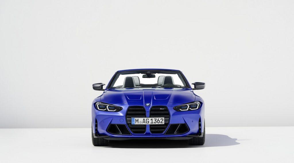 BMW M4 Competition XDrive Cabrio griglia anteriore