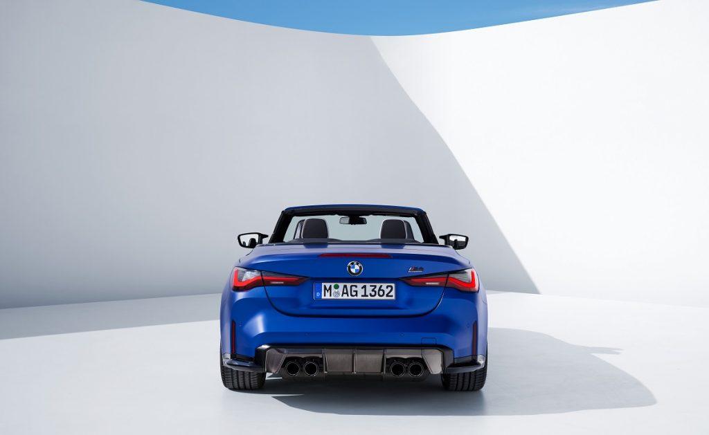 BMW M4 Competition XDrive Cabrio posteriore