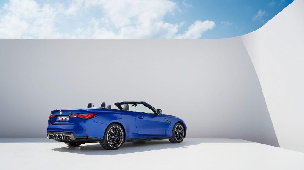 BMW M4 Competition XDrive Cabrio profilo