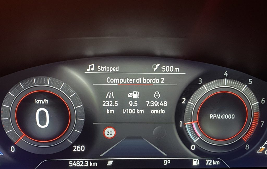 Ford Puma ST consumi