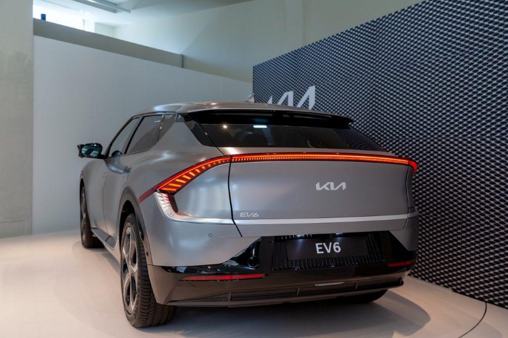 Kia EV6 posteriore