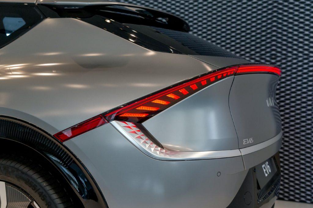 Kia EV6 dettaglio posteriore