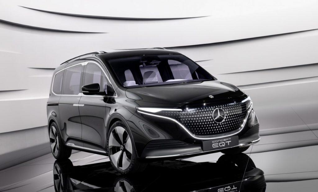 Mercedes EQT vista frontale