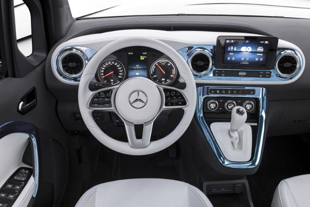 Mercedes EQT infotainment