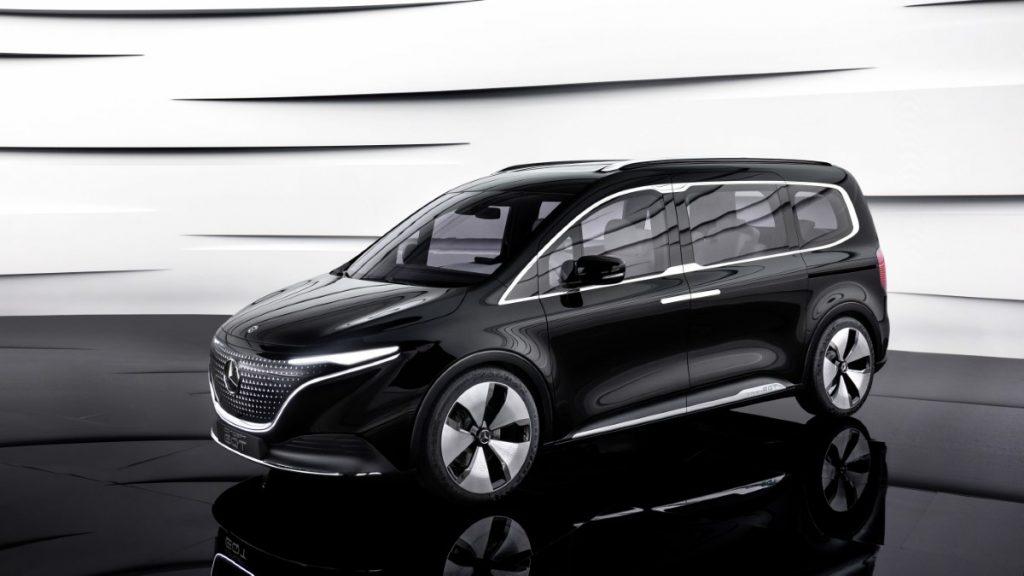 Mercedes EQT dimensioni