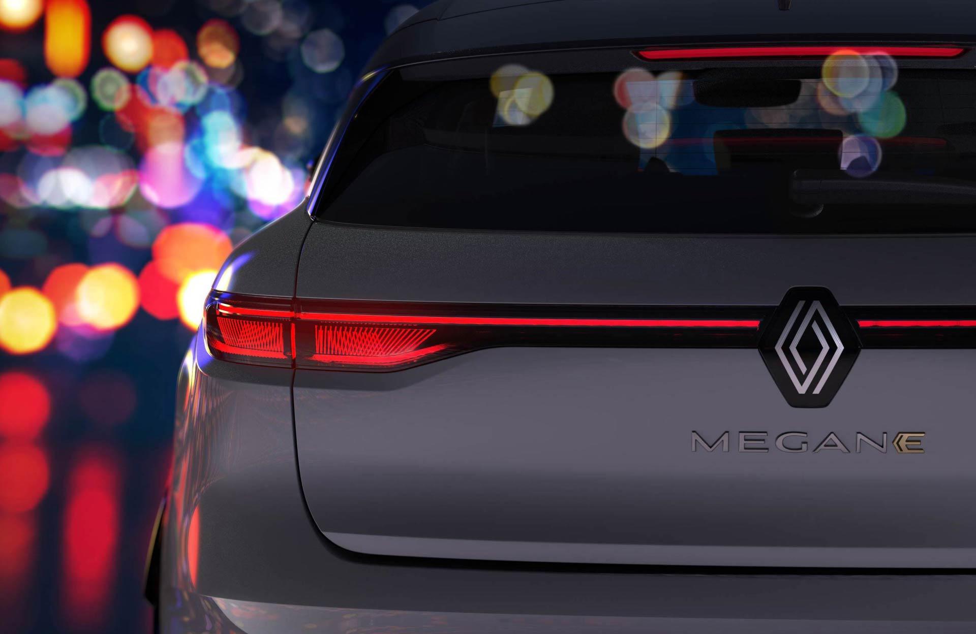 Renault Megane elettrica, le immagini teaser ed esordio del nuovo logo