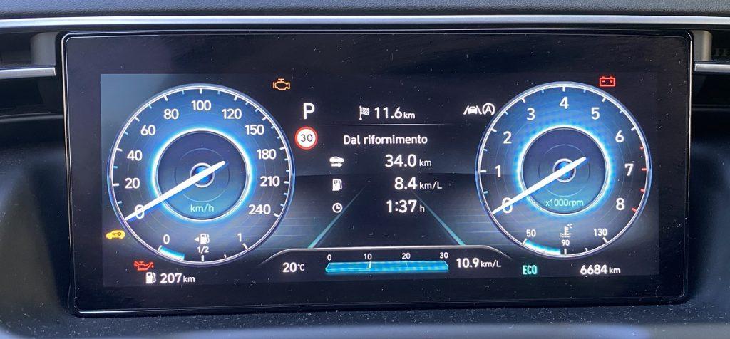 consumi nuova Hyundai Tucson