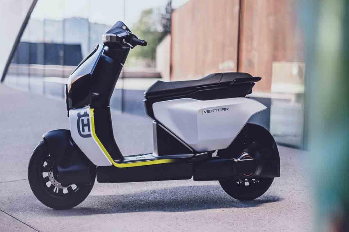 Husqvarna Motorcycles scooter elettrico