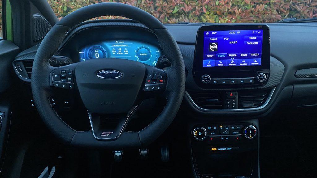 interni Ford Puma ST